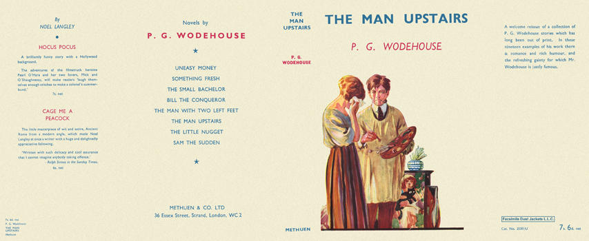 Man Upstairs, The. P. G. Wodehouse.