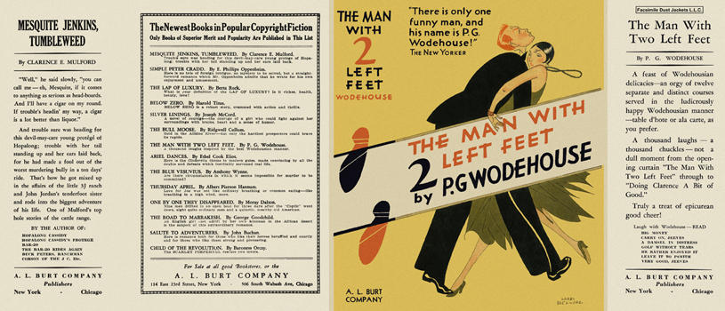 Man with Two Left Feet, The. P. G. Wodehouse.