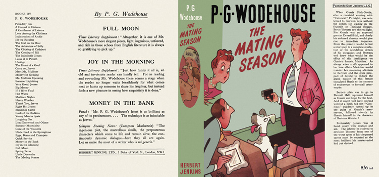 Mating Season, The. P. G. Wodehouse.