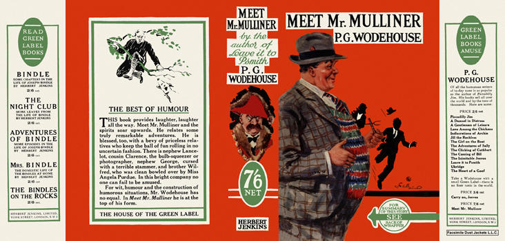 Meet Mr. Mulliner. P. G. Wodehouse.