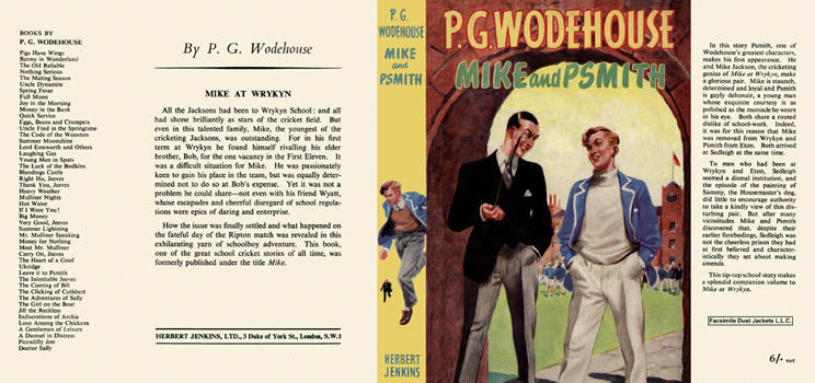 Mike and Psmith. P. G. Wodehouse.