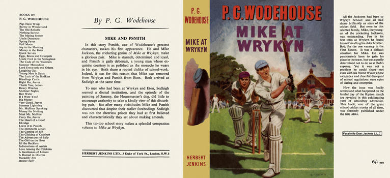 Mike at Wrykyn. P. G. Wodehouse.