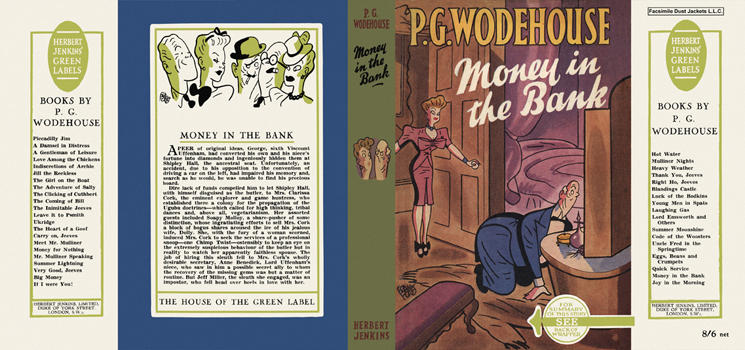 Money in the Bank. P. G. Wodehouse.