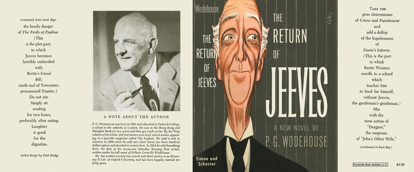 Return of Jeeves, The. P. G. Wodehouse