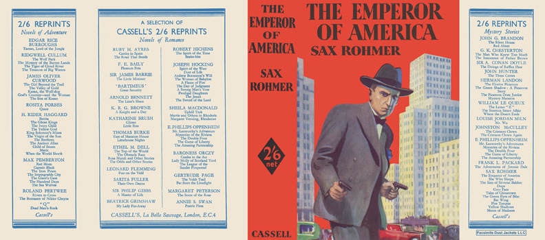 Emperor of America, The. Sax Rohmer