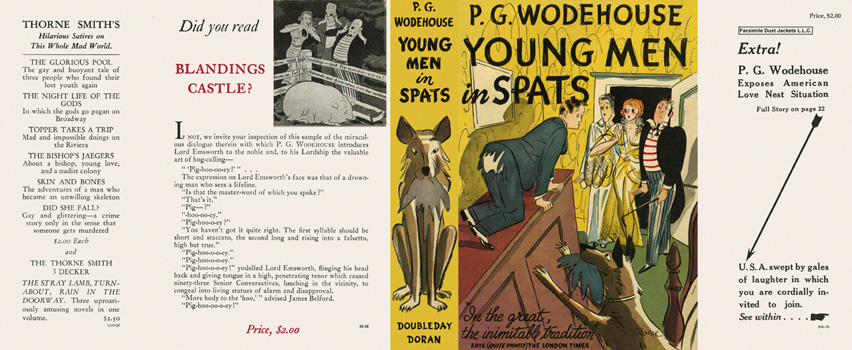 Young Men in Spats. P. G. Wodehouse.