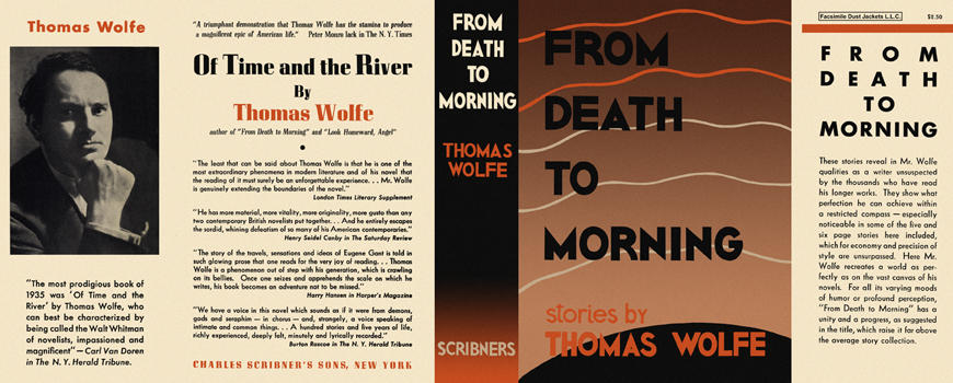From Death to Morning. Thomas Wolfe