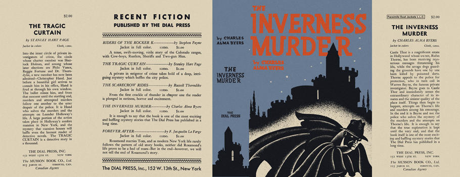 Inverness Murder, The. Charles Alma Byers.