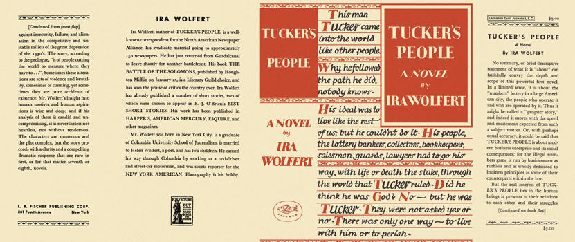 Tucker's People. Ira Wolfert.