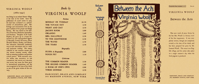 virginia woolfs between the acts essay The double lives of servants: a comparison and contrast between the representation of servants in virginia woolf's between the acts and jamaica kincaid's lucy jessica.