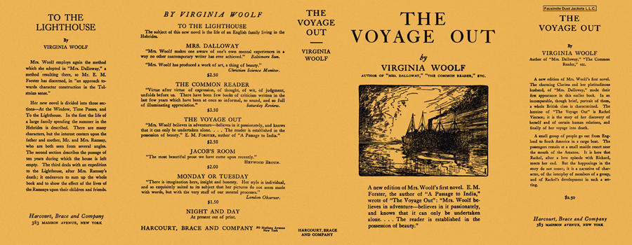 Voyage Out, The. Virginia Woolf.