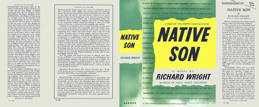 Native Son. Richard Wright.