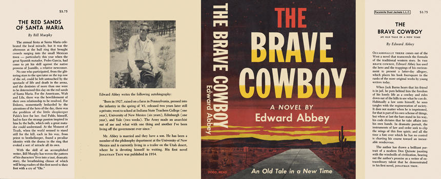 Brave Cowboy, The. Edward Abbey.