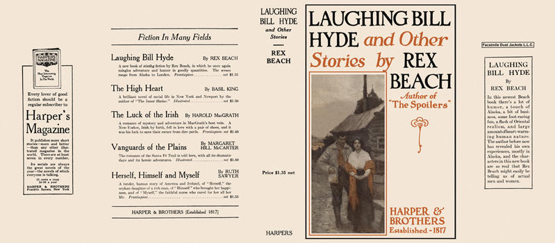 Laughing Bill Hyde and Other Stories. Rex Beach.