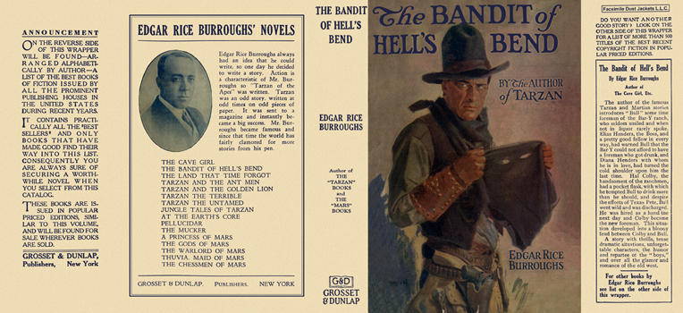 Bandit of Hell's Bend, The. Edgar Rice Burroughs.