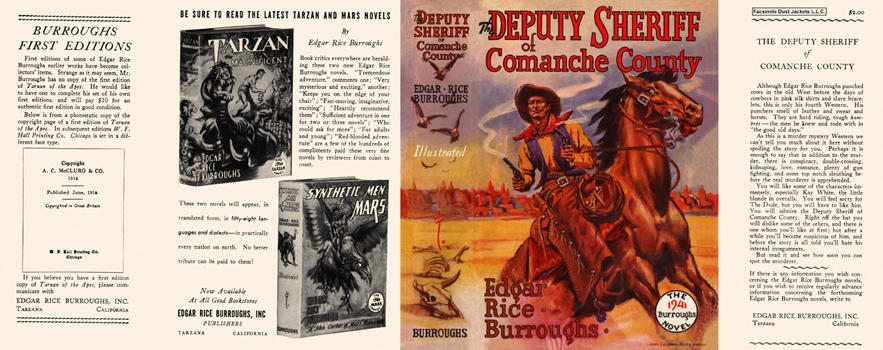 Deputy Sheriff of Comanche County, The. Edgar Rice Burroughs