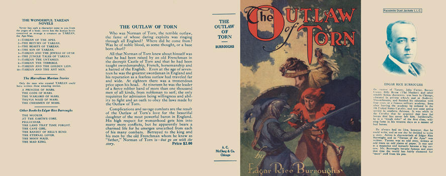 Outlaw of Torn, The. Edgar Rice Burroughs