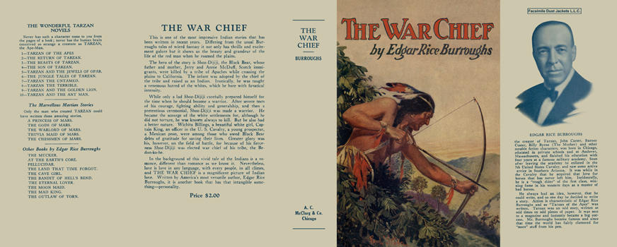 War Chief, The. Edgar Rice Burroughs.