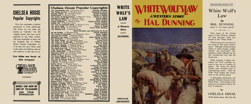 White Wolf's Law. Hal Dunning.