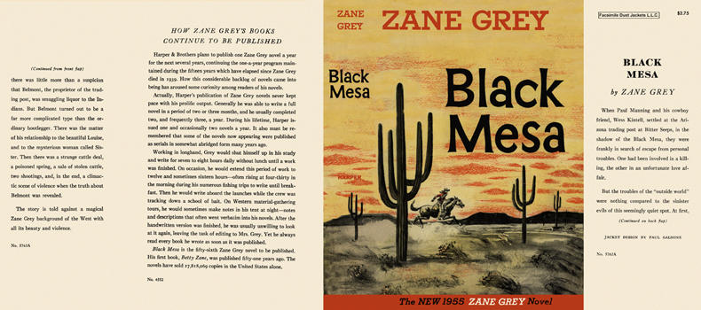 Black Mesa. Zane Grey