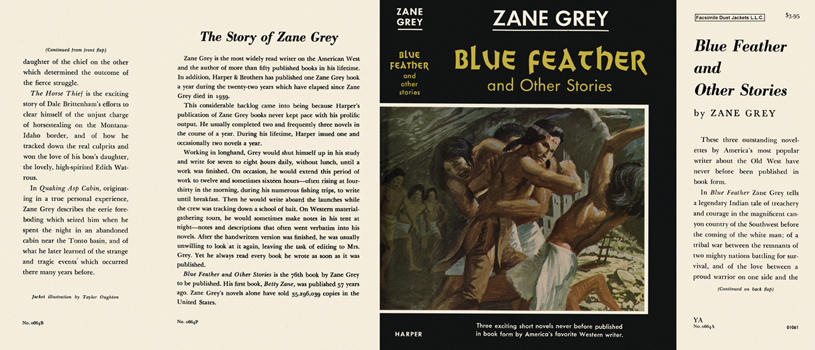 Blue Feather and Other Stories. Zane Grey