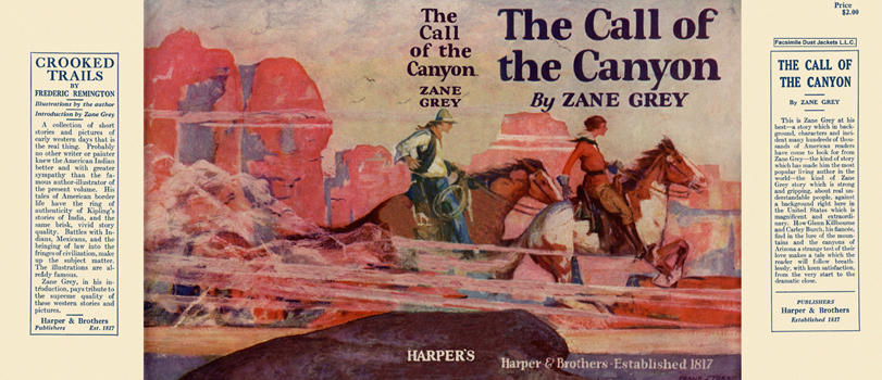Call of the Canyon, The. Zane Grey