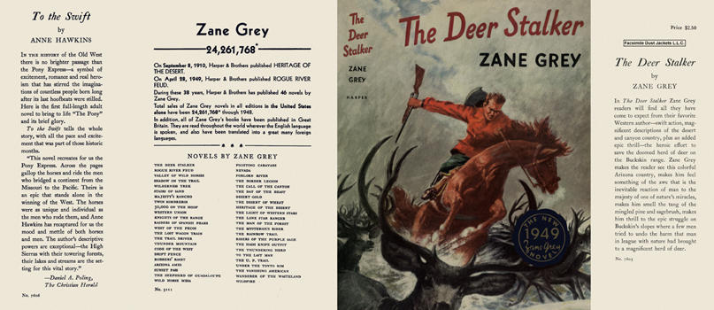 Deer Stalker, The. Zane Grey.
