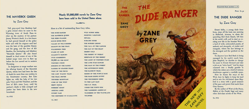 Dude Ranger, The. Zane Grey