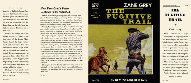 Fugitive Trail, The. Zane Grey