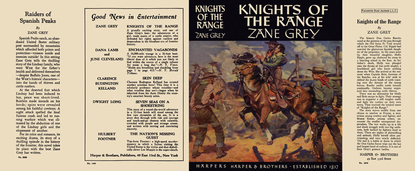 Knights of the Range. Zane Grey