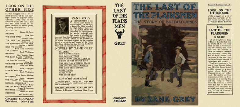 Last of the Plainsmen, The. Zane Grey