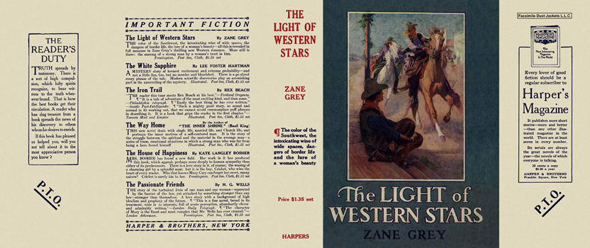 Light of Western Stars, The. Zane Grey