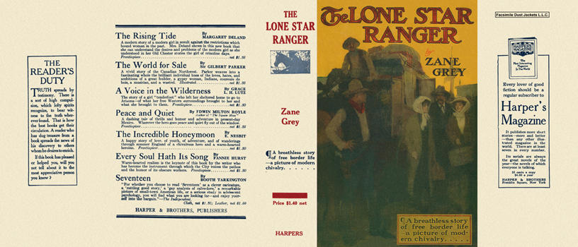 Lone Star Ranger, The. Zane Grey