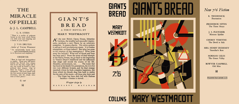 Giant's Bread. Mary Westmacott
