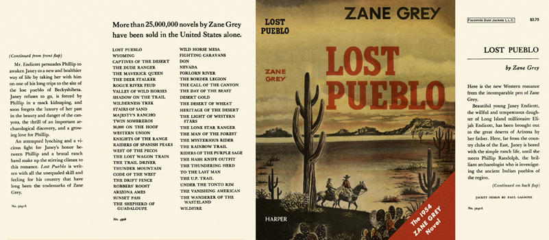 Lost Pueblo. Zane Grey