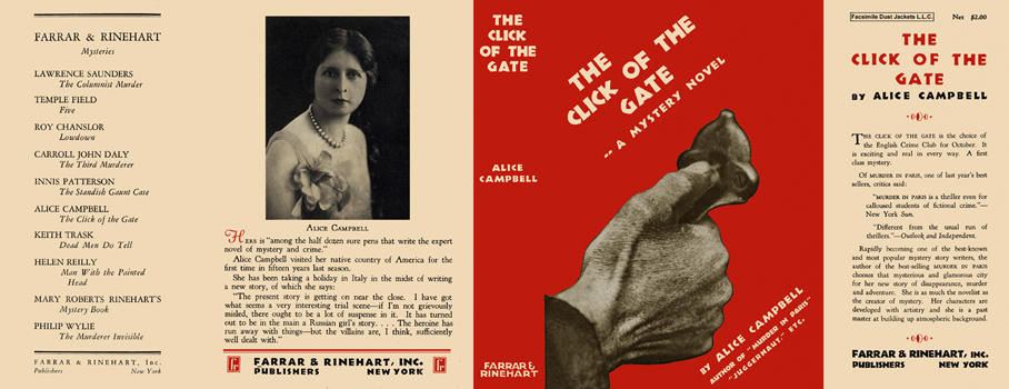 Click of the Gate, The. Alice Campbell