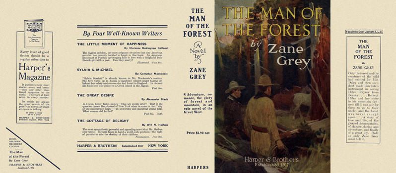 Man of the Forest, The. Zane Grey