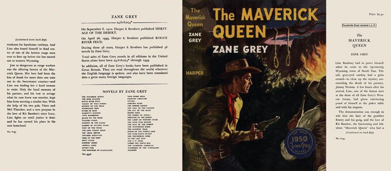 Maverick Queen, The. Zane Grey