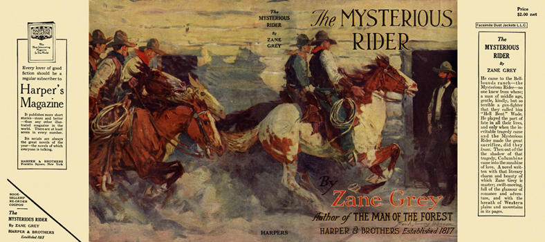 Mysterious Rider, The. Zane Grey