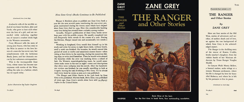 Ranger and Other Stories, The. Zane Grey