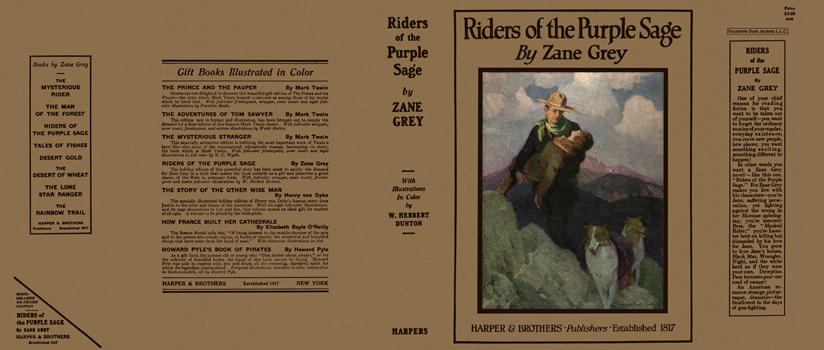 Riders of the Purple Sage. Zane Grey, Herbert Dunton