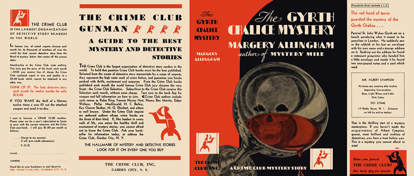 Gyrth Chalice Mystery, The. Margery Allingham