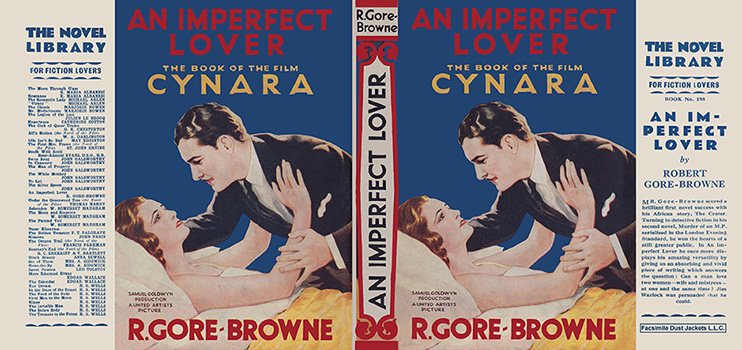 An Imperfect Lover (Book of the Film Cynara). R. Gore-Browne.