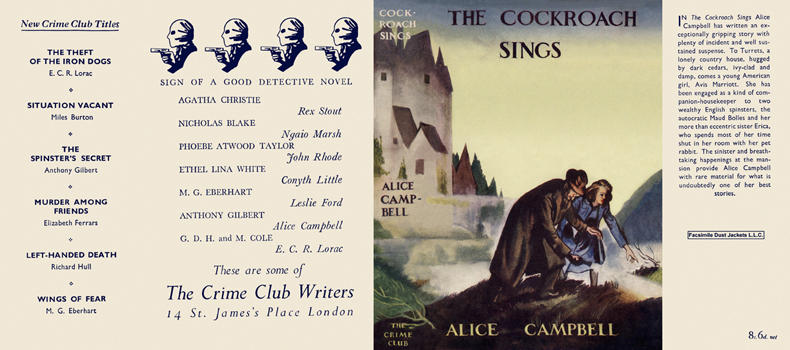 Cockroach Sings, The. Alice Campbell