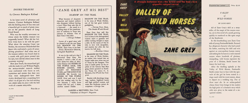 Valley of Wild Horses. Zane Grey