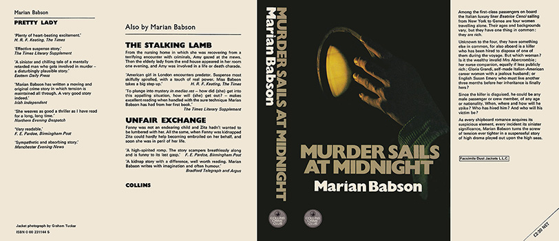 Murder Sails at Midnight. Marian Babson