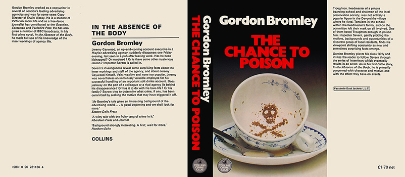 Chance to Poison, The. Gordon Bromley.