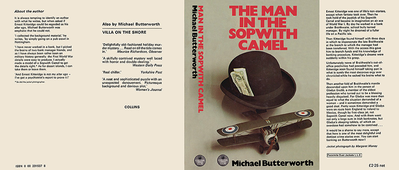 Man in the Sopwith Camel, The. Michael Butterworth.