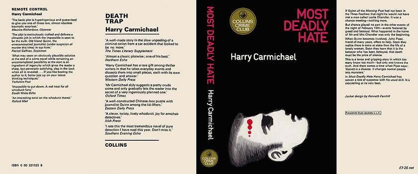 Most Deadly Hate. Harry Carmichael