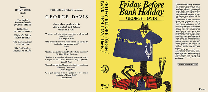 Friday Before Bank Holiday. George Davis